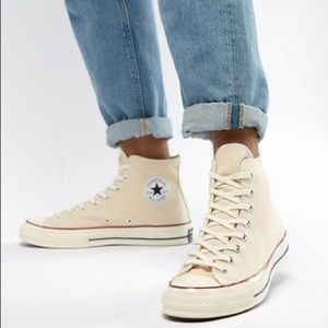 High Top Chuck 70 Converse in Parchment